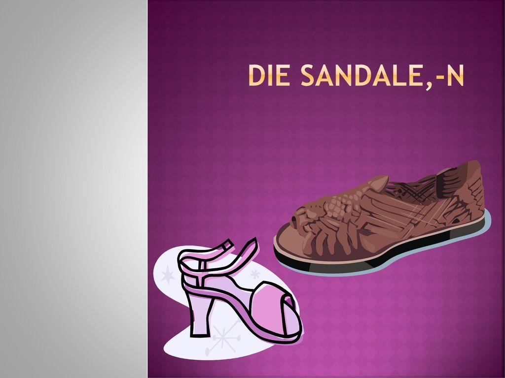 Die Sandale,-n