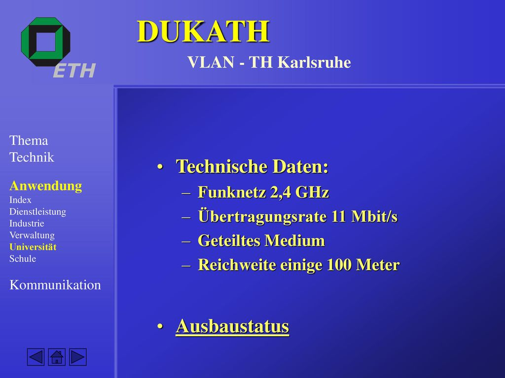 DUKATH VLAN - TH Karlsruhe