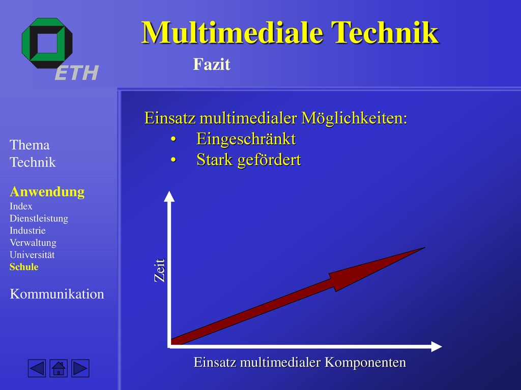 Multimediale Technik Fazit