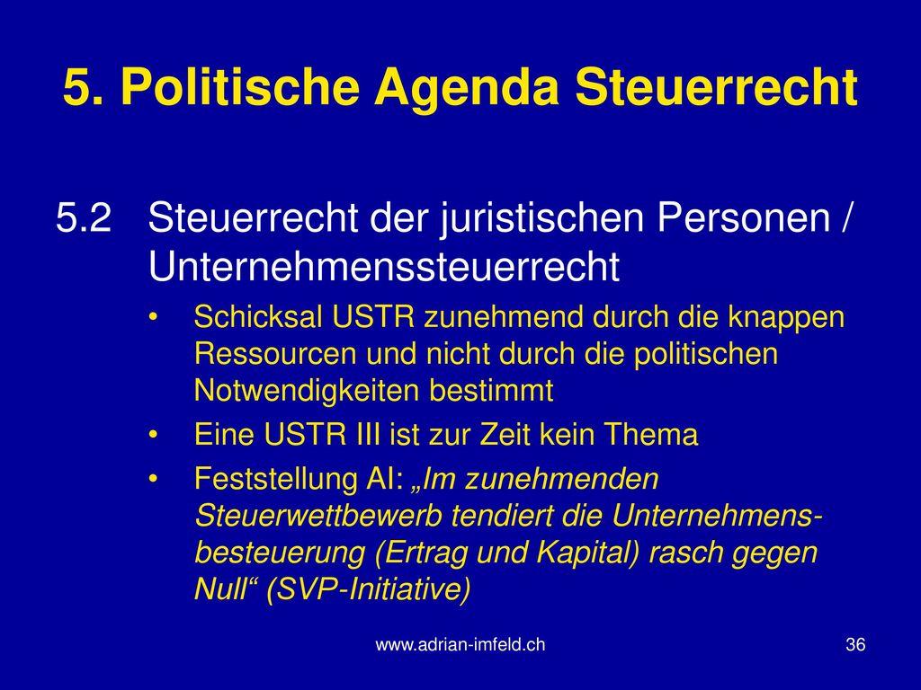 Unternehmenssteuerreform II – Neugestaltung GmbH- und Revisionsrecht ...