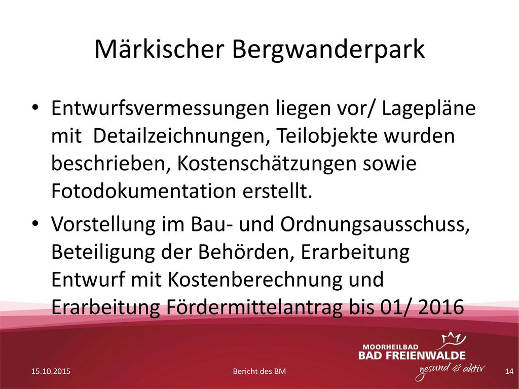 Märkischer Bergwanderpark