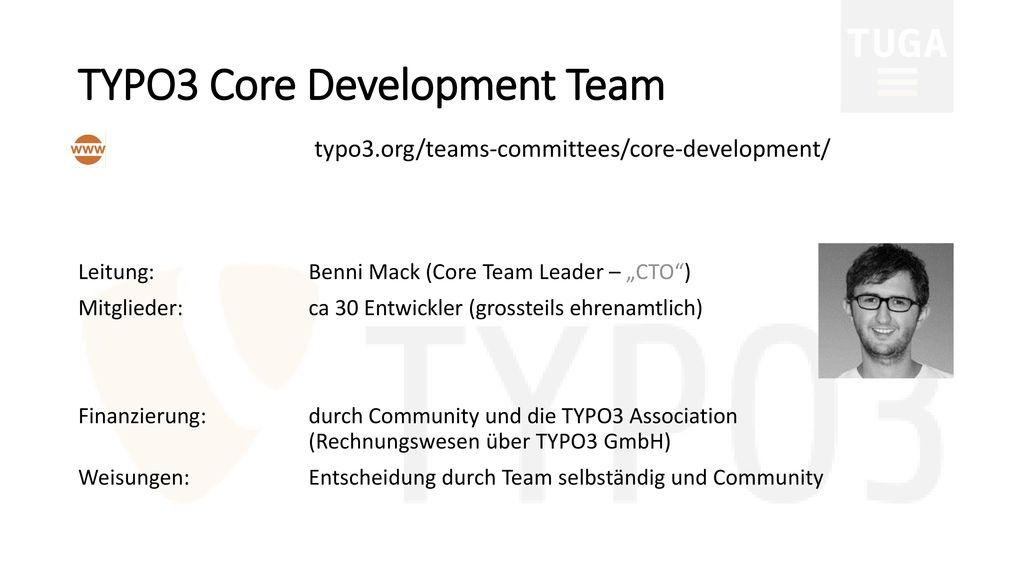 TYPO3 Core Development Team