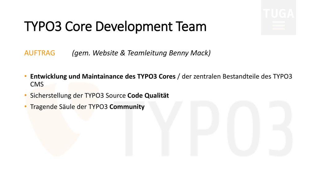 TYPO3 Core Development Team