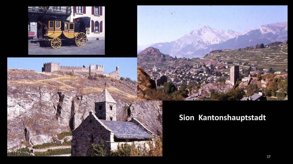 Sion Kantonshauptstadt