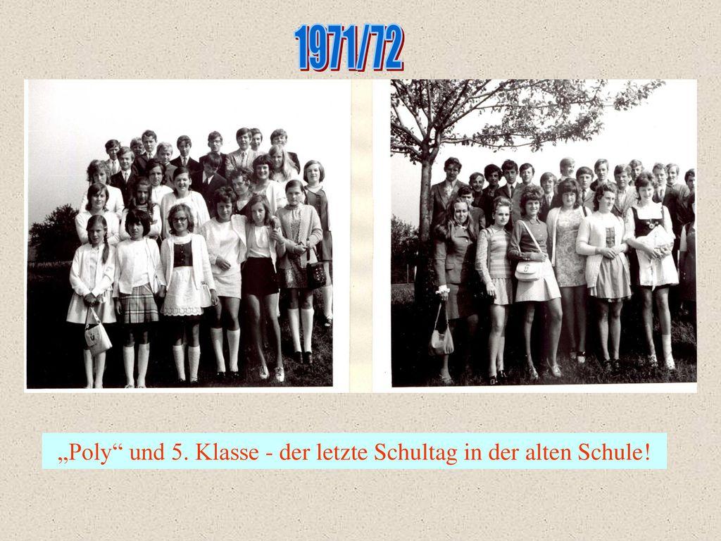 """""""Poly und 5. Klasse - der letzte Schultag in der alten Schule!"""