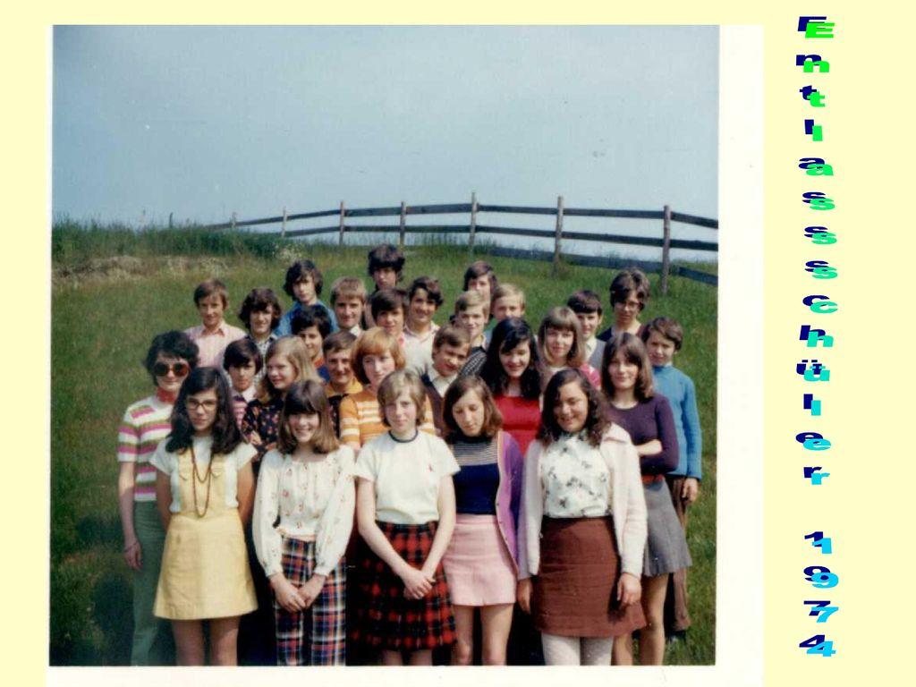 Entlassschüler 1974