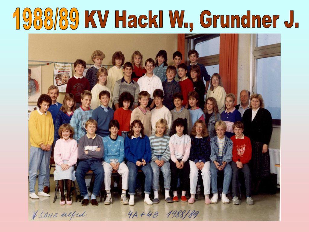 1988/89 KV Hackl W., Grundner J.