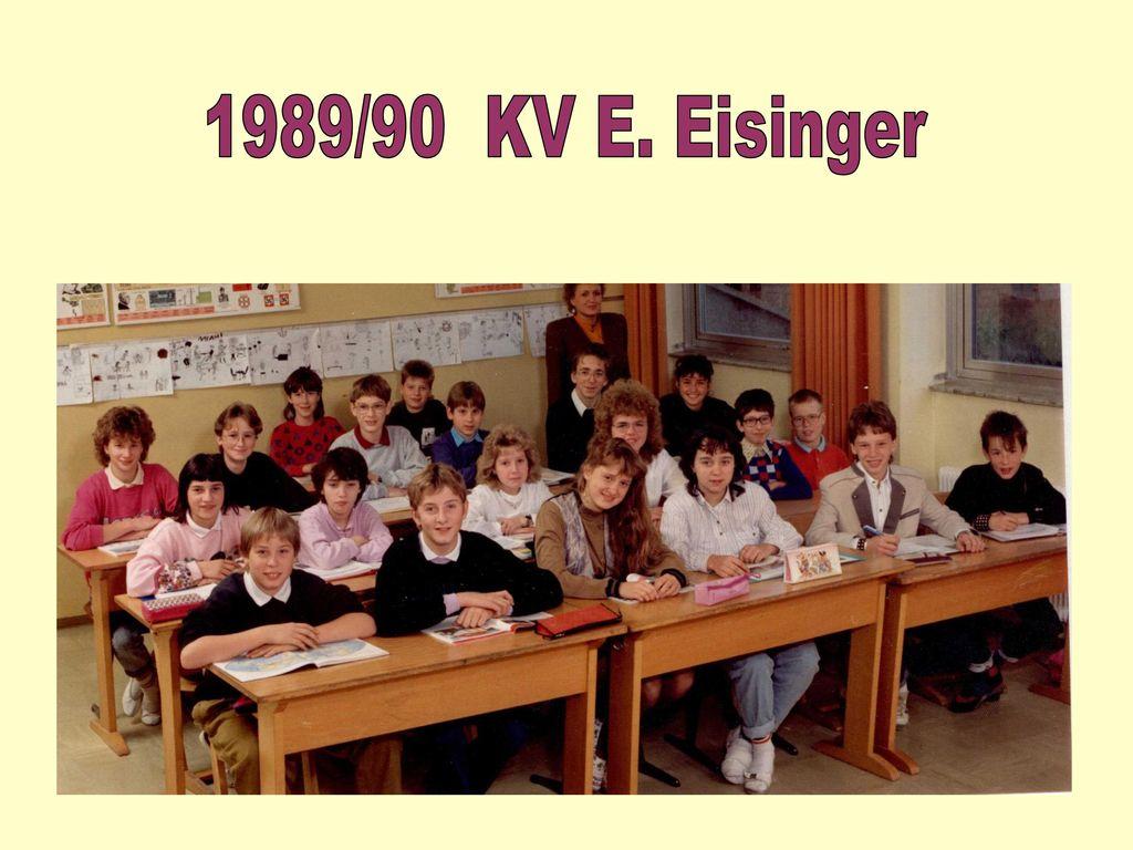 1989/90 KV E. Eisinger