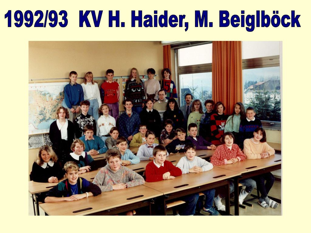 1992/93 KV H. Haider, M. Beiglböck