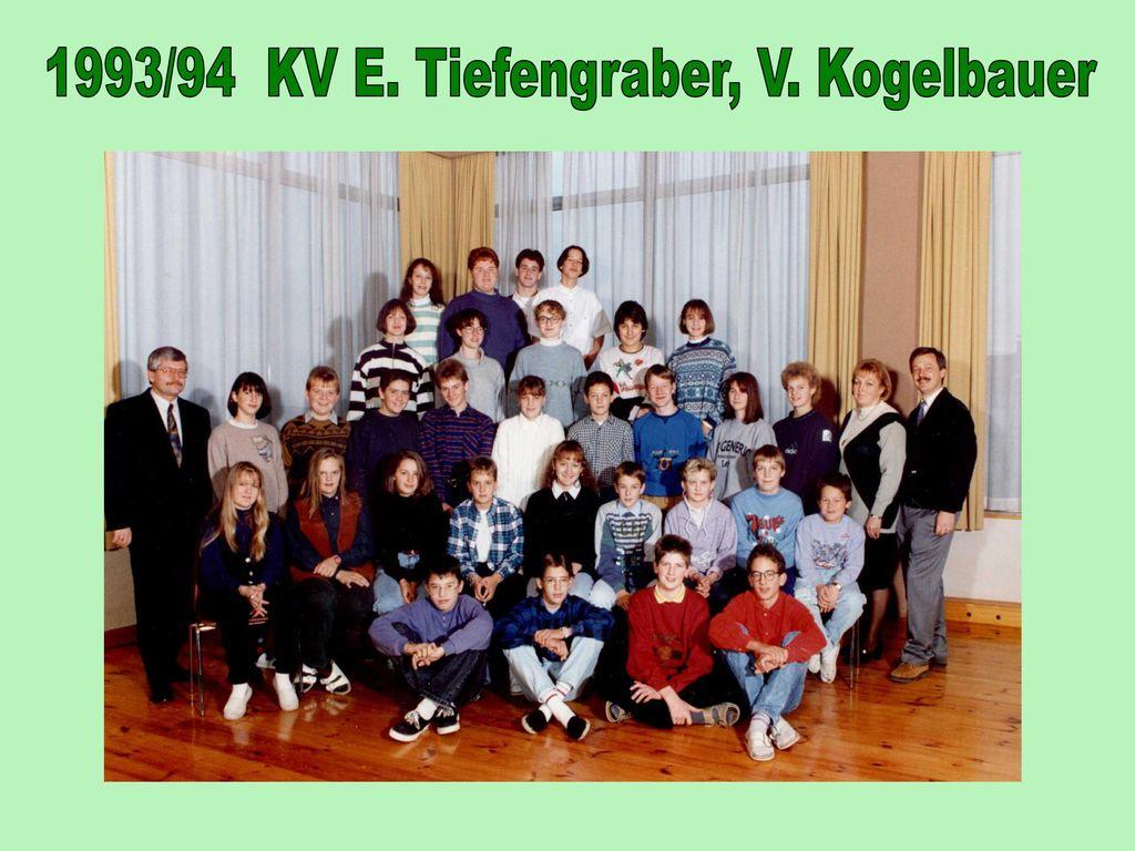 1993/94 KV E. Tiefengraber, V. Kogelbauer