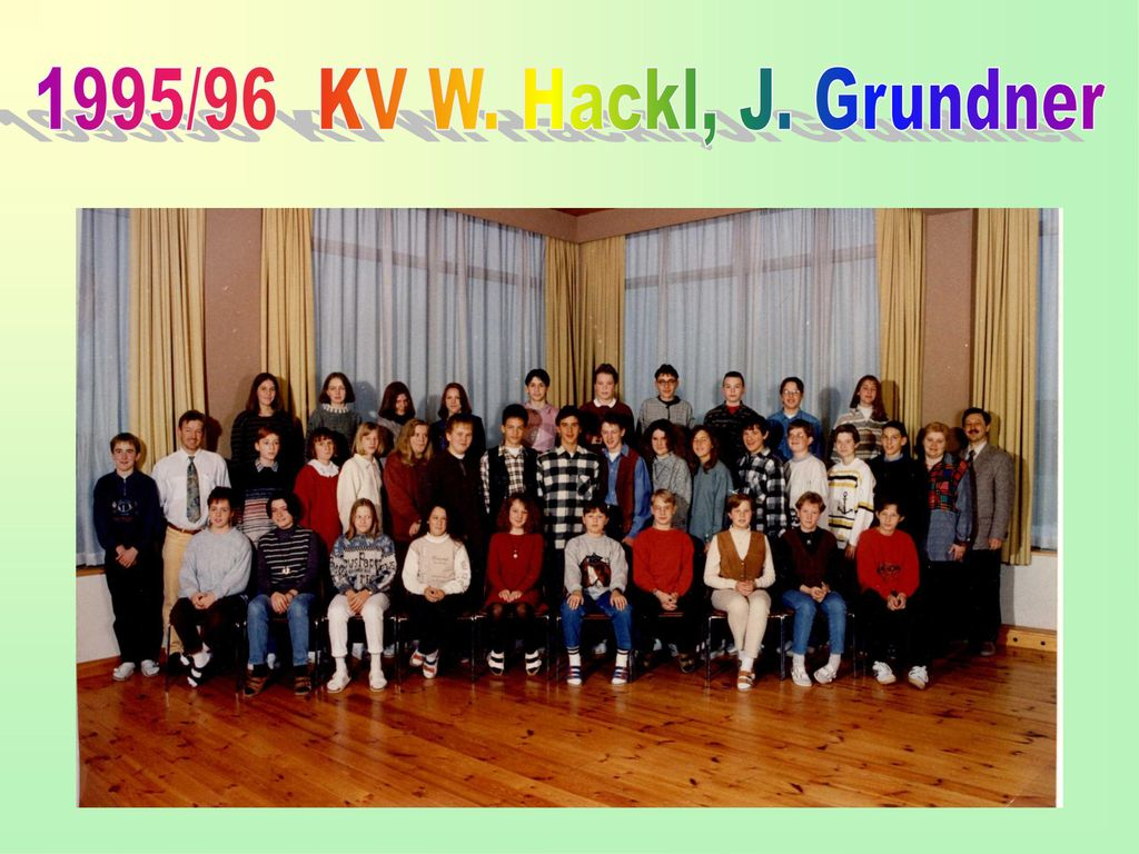 1995/96 KV W. Hackl, J. Grundner