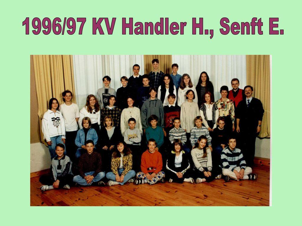 1996/97 KV Handler H., Senft E.
