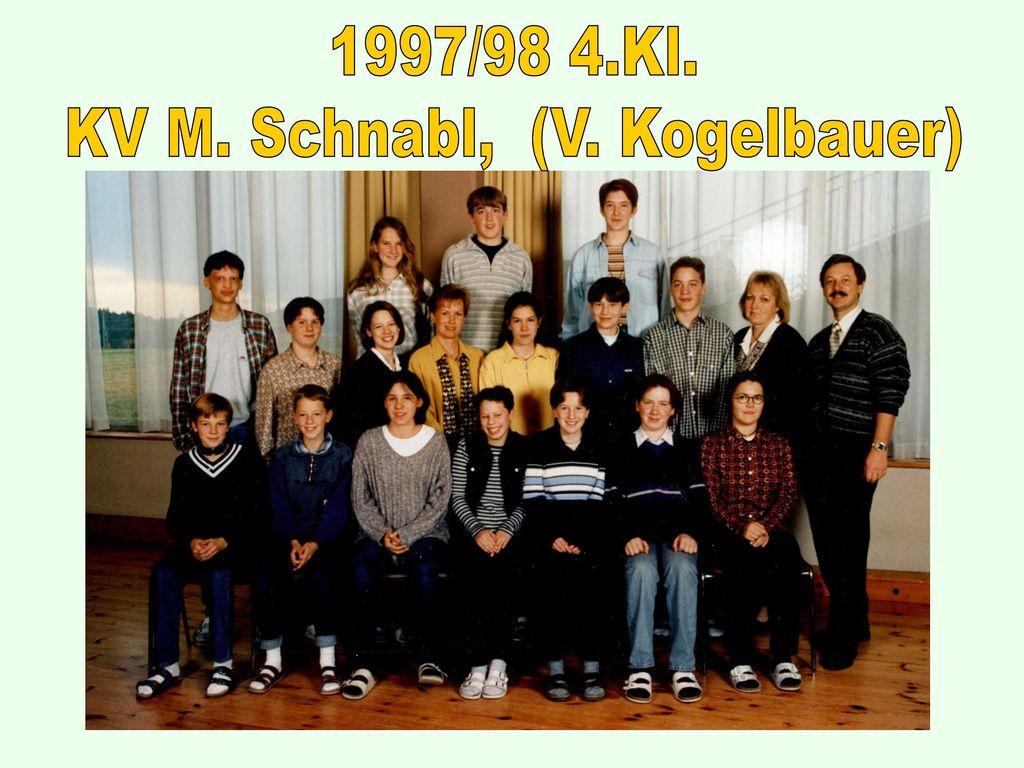 KV M. Schnabl, (V. Kogelbauer)