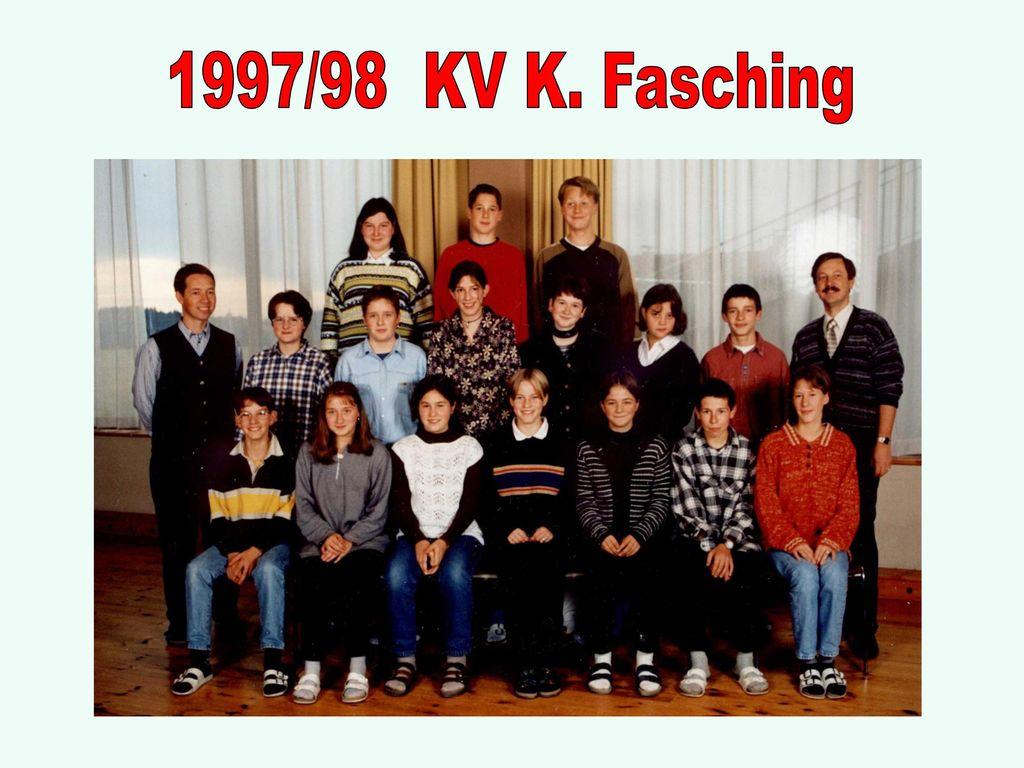 1997/98 KV K. Fasching