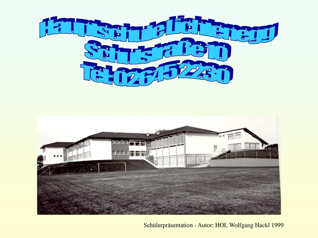 Hauptschule Lichtenegg