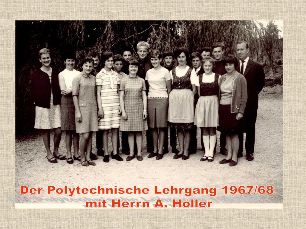 Der Polytechnische Lehrgang 1967/68