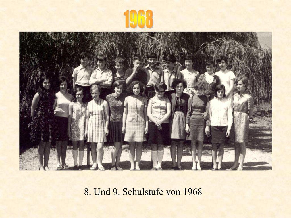 1968 8. Und 9. Schulstufe von 1968