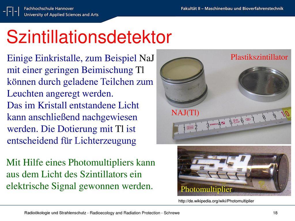 Szintillationsdetektor