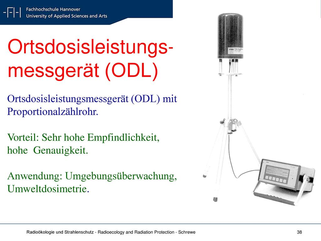 Ortsdosisleistungs- messgerät (ODL)