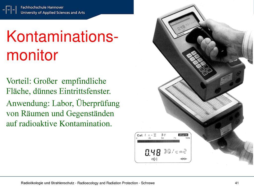 Kontaminations- monitor