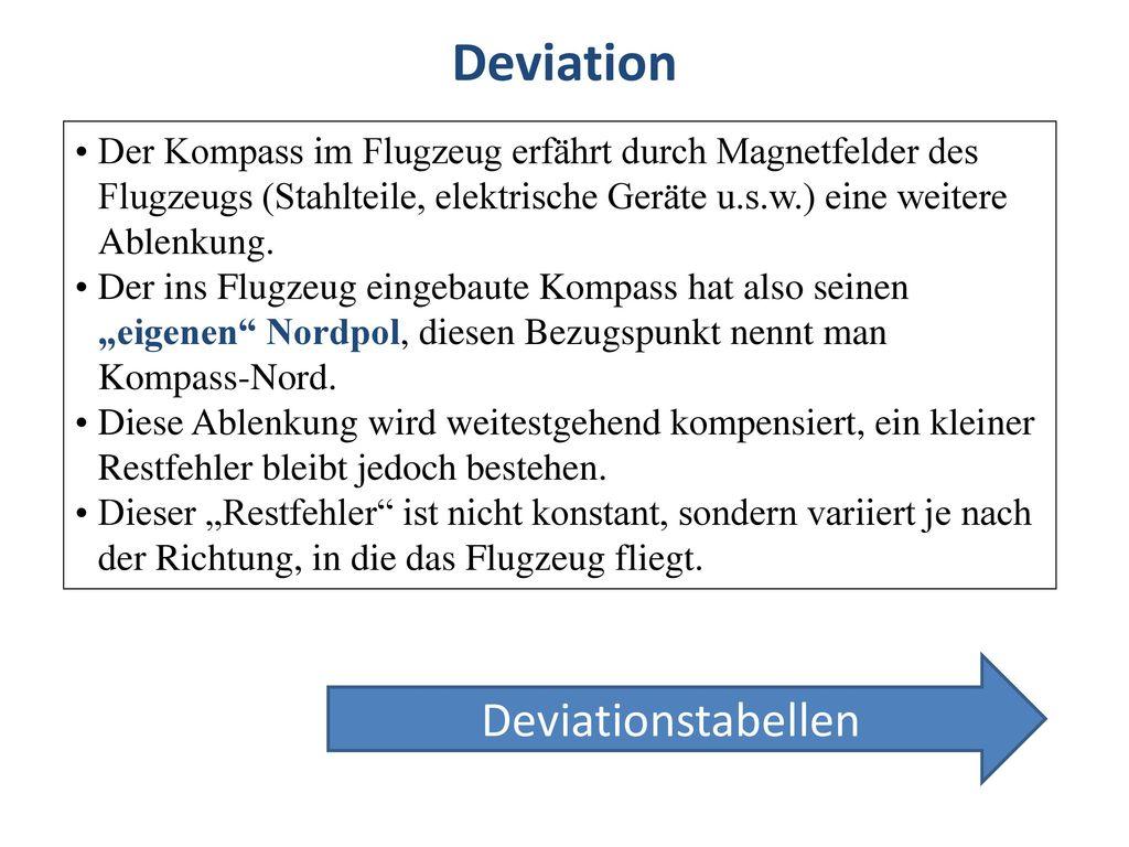 Deviation Deviationstabellen