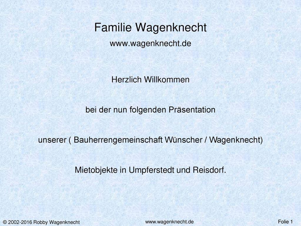 Familie Wagenknecht www.wagenknecht.de