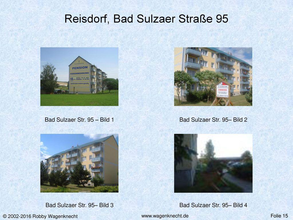 Reisdorf, Bad Sulzaer Straße 95