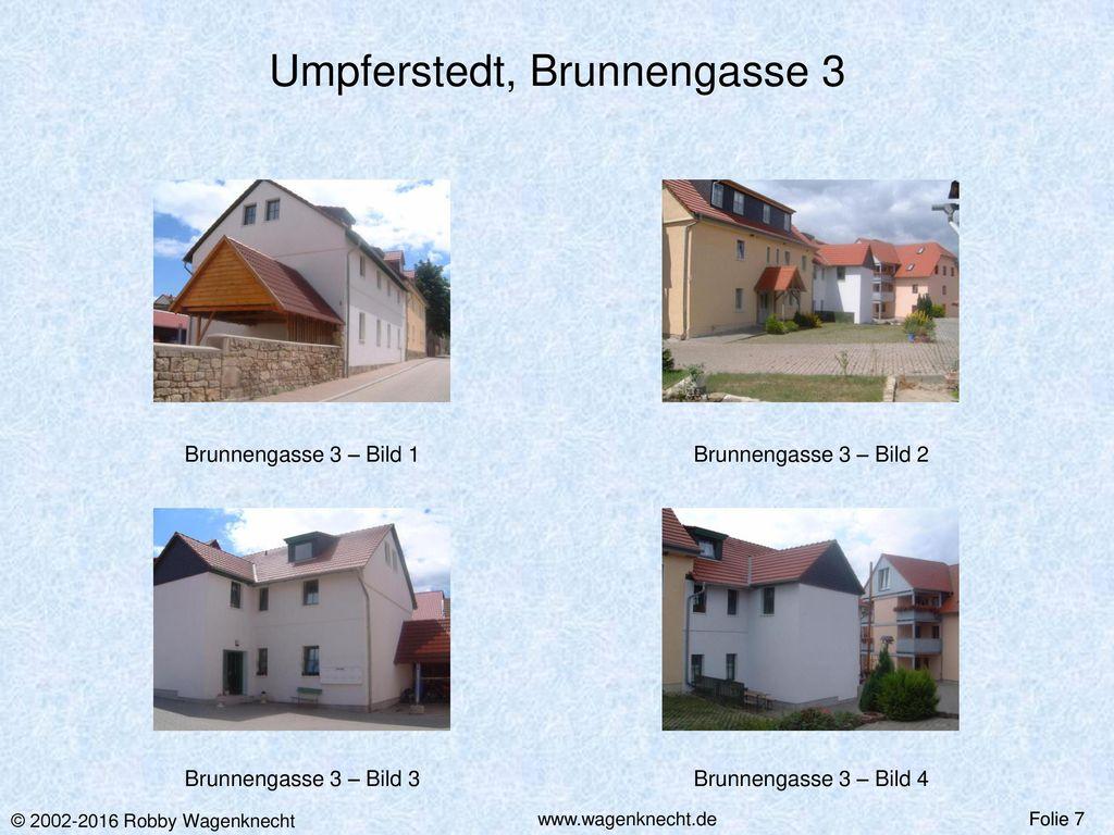 Umpferstedt, Brunnengasse 3