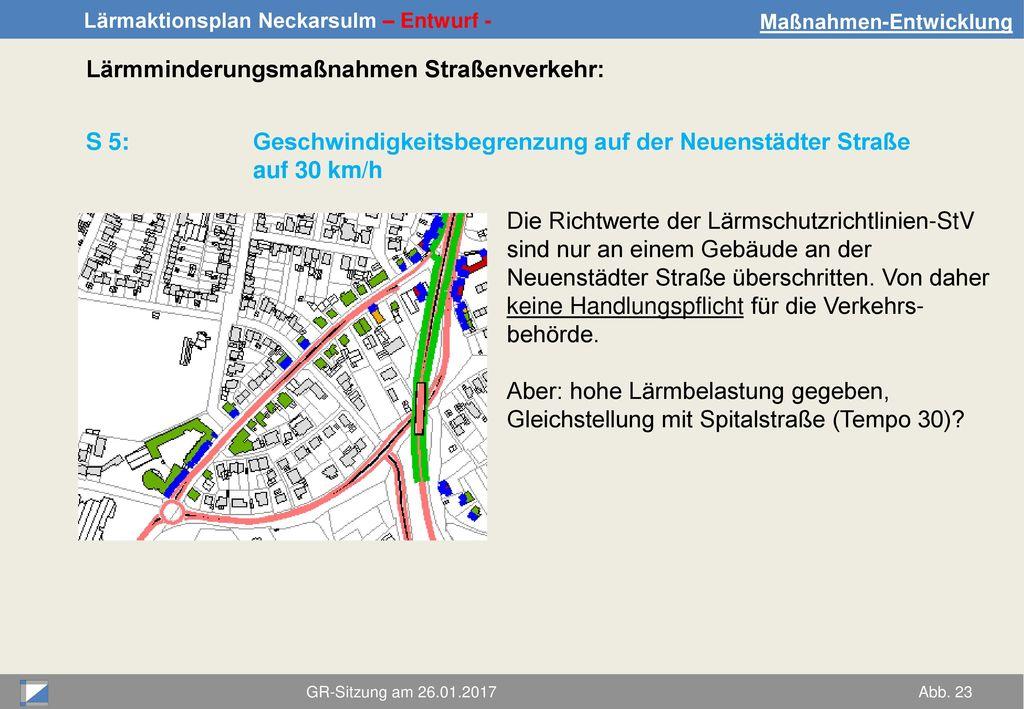 Lärmminderungsmaßnahmen Straßenverkehr: