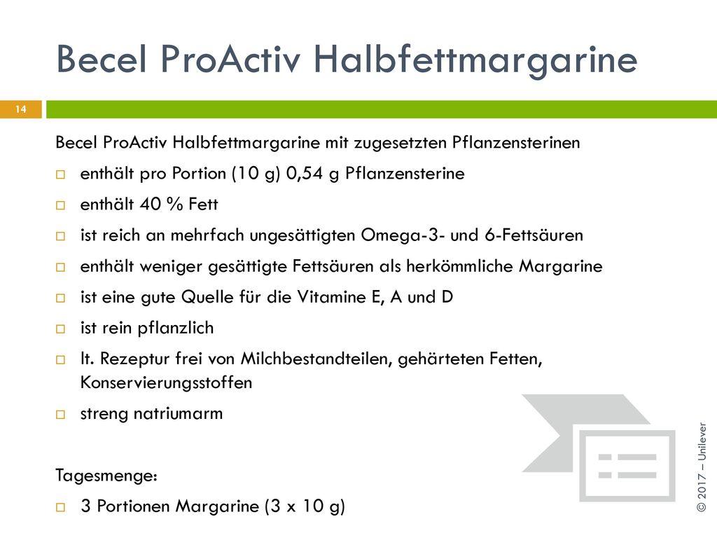 Becel ProActiv Halbfettmargarine