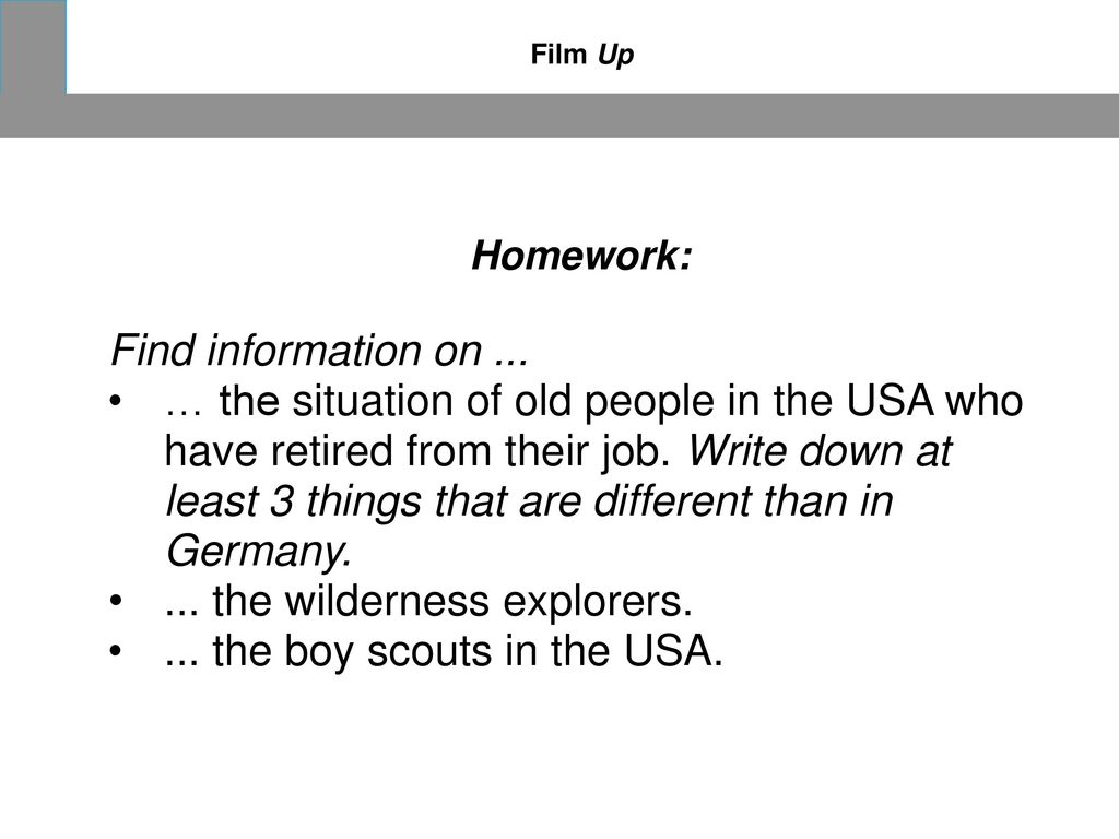 ... the wilderness explorers. ... the boy scouts in the USA.