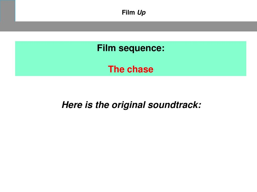 Here is the original soundtrack: