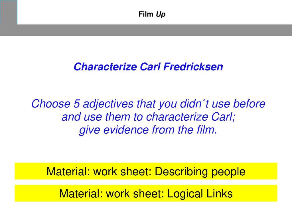 Characterize Carl Fredricksen