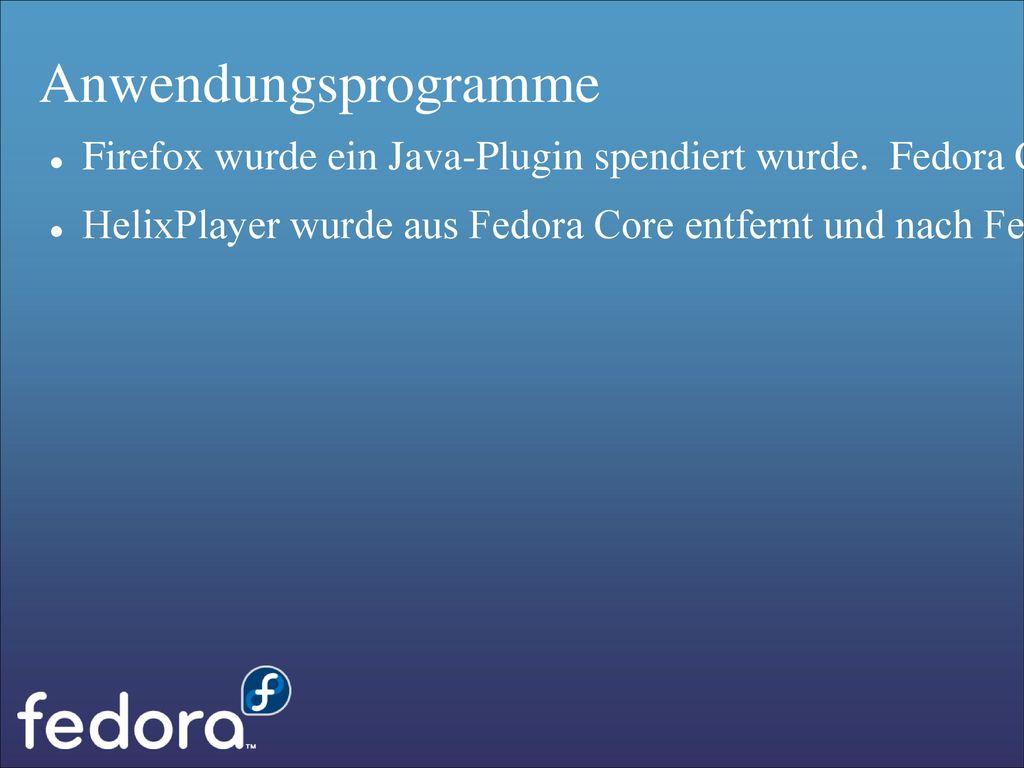 Anwendungsprogramme