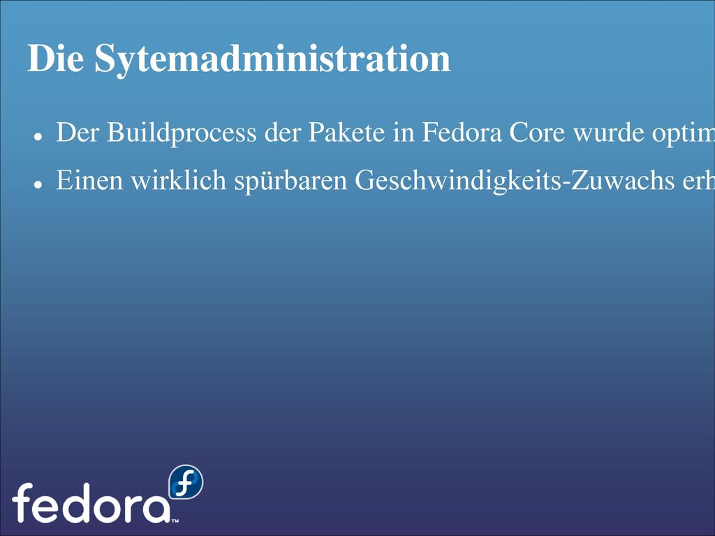 Die Sytemadministration