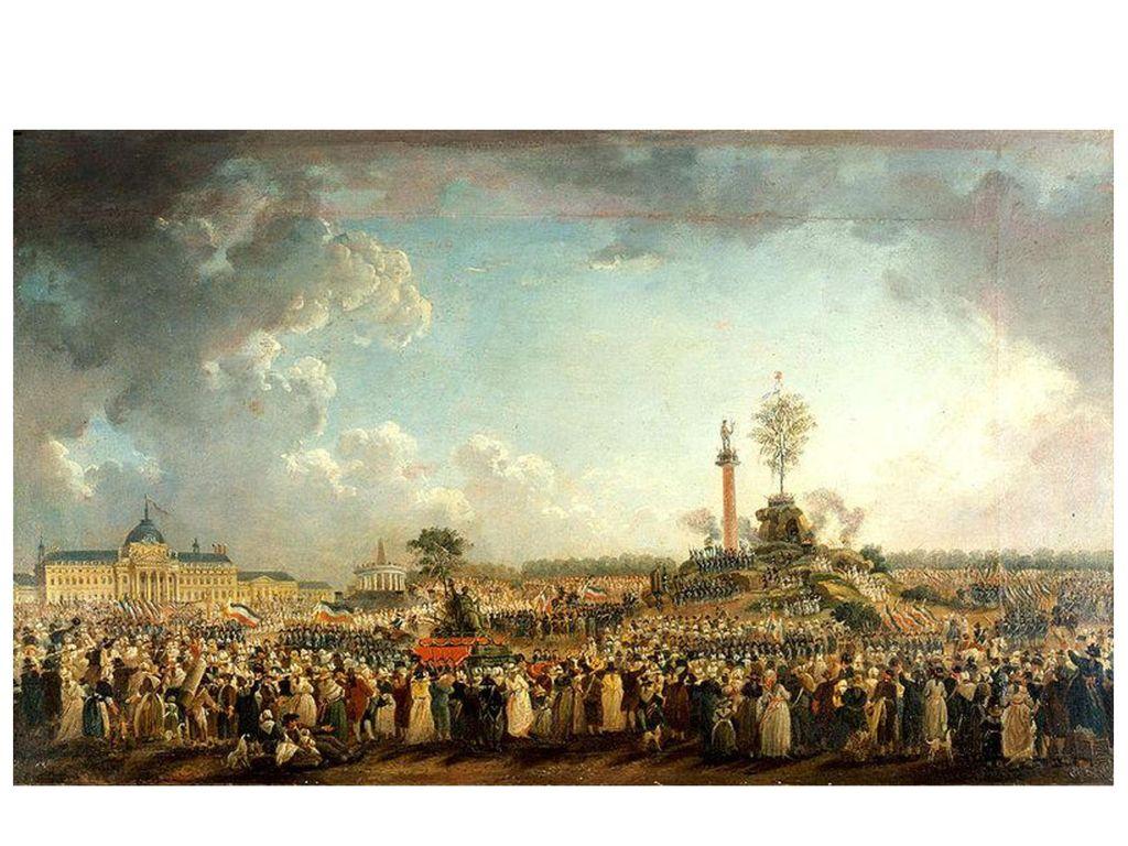 Pierre-Antoine Demachy: Kultus des höchsten Wesens (1794) – Deismus, zivilreligiöser Kult, eingesetzt 1794 von Robespierre, aufgehoben nach dessen Hinrichtung