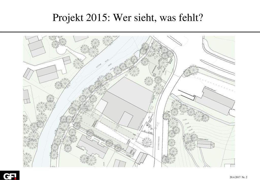 Projekt 2015: Wer sieht, was fehlt