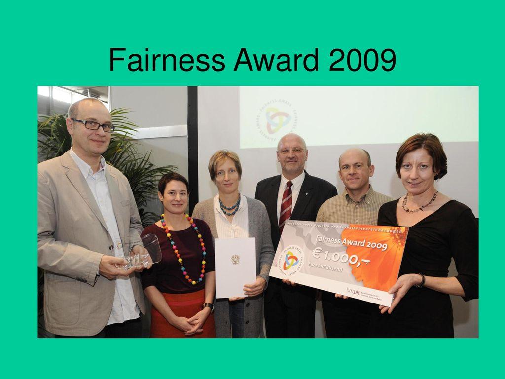 Fairness Award 2009