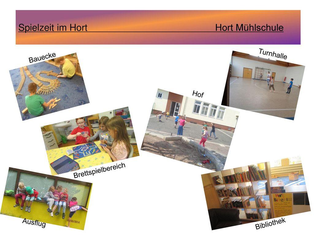 Spielzeit im Hort Hort Mühlschule