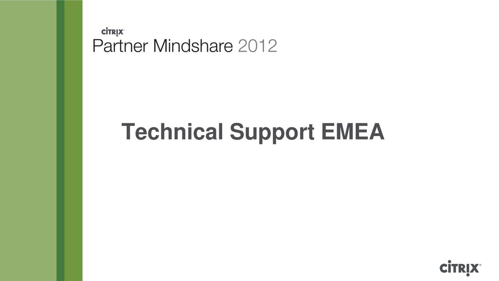Technical Support EMEA