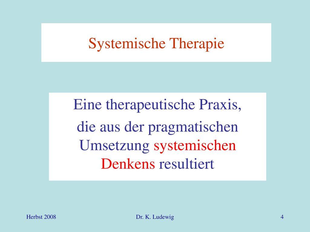 Eine therapeutische Praxis,