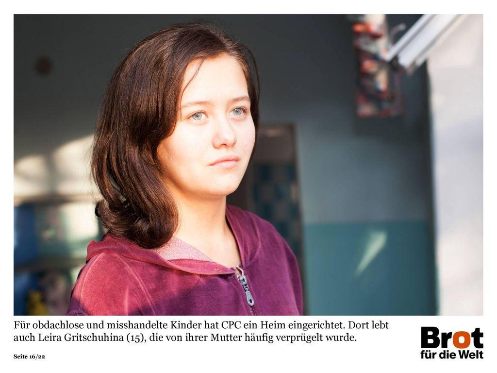 Für obdachlose und misshandelte Kinder hat CPC ein Heim eingerichtet