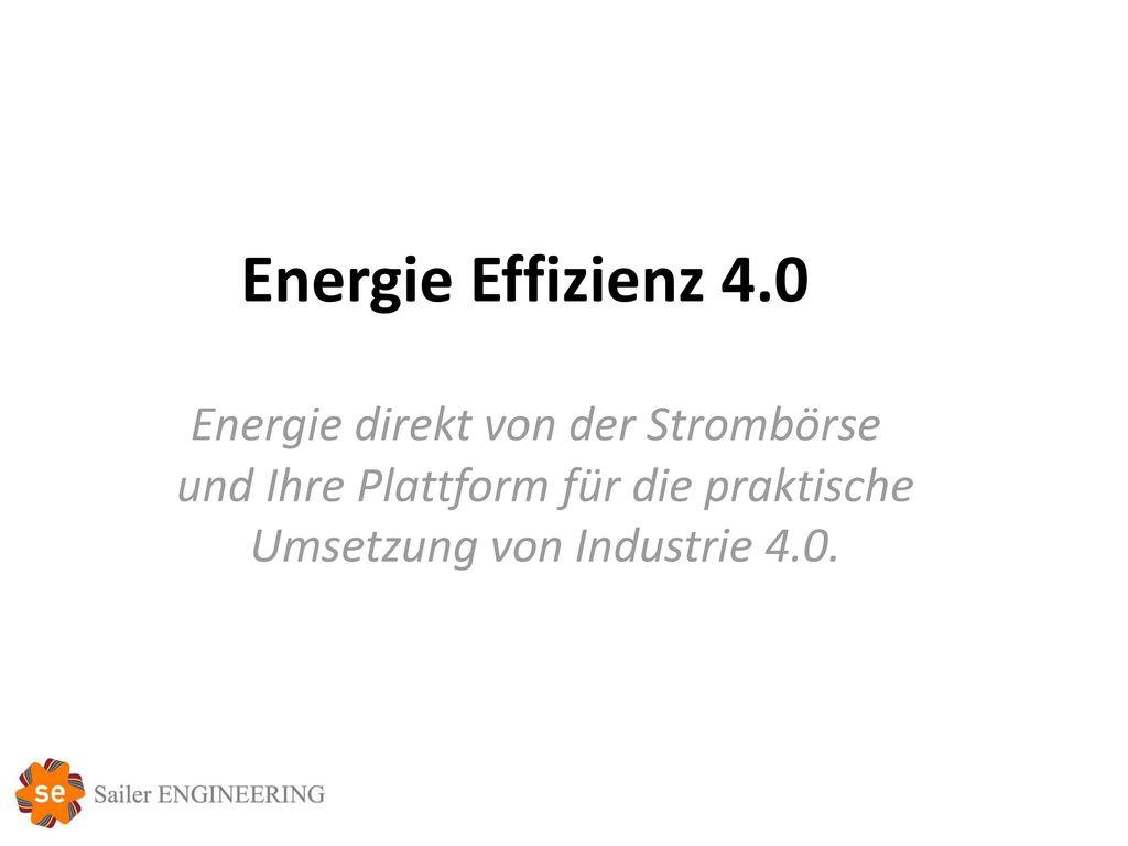 und Ihre Plattform für die praktische Umsetzung von Industrie 4.0.