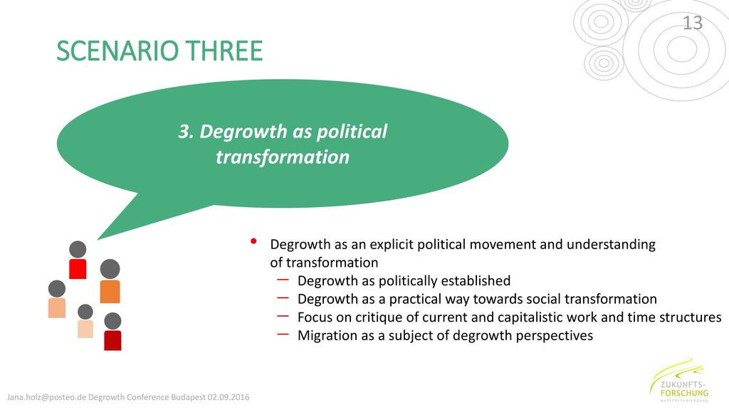 3. Degrowth as political transformation
