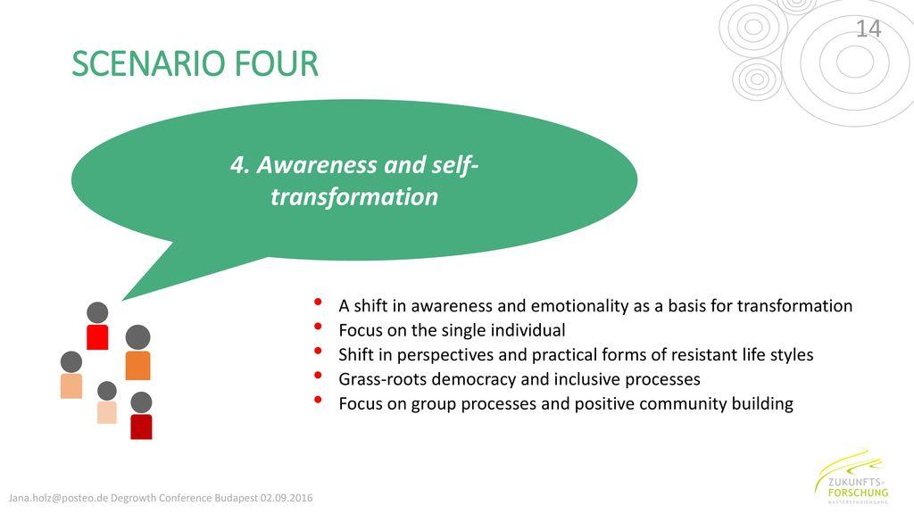 4. Awareness and self-transformation