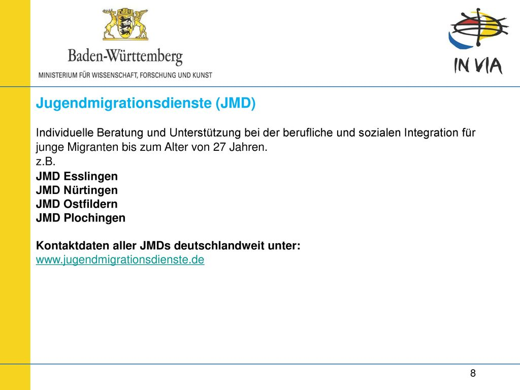 Jugendmigrationsdienste (JMD)