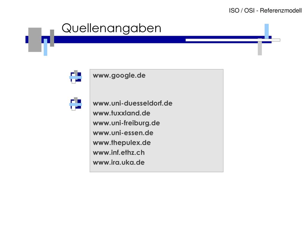 Quellenangaben www.google.de www.uni-duesseldorf.de www.tuxxland.de