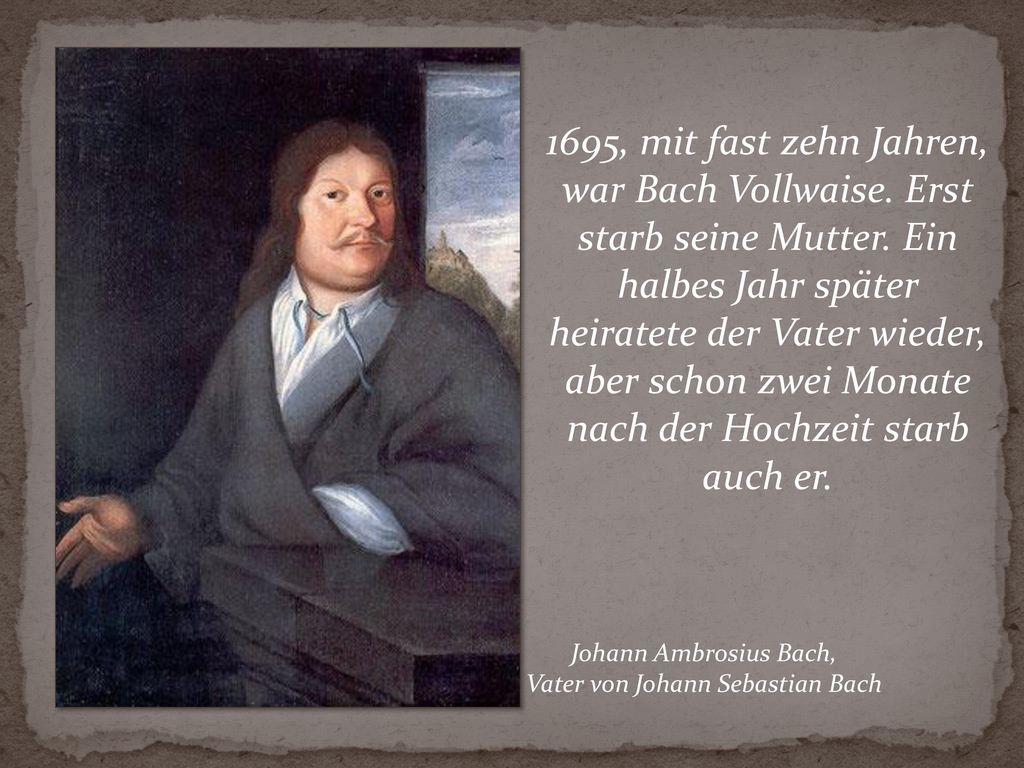 Vater von Johann Sebastian Bach