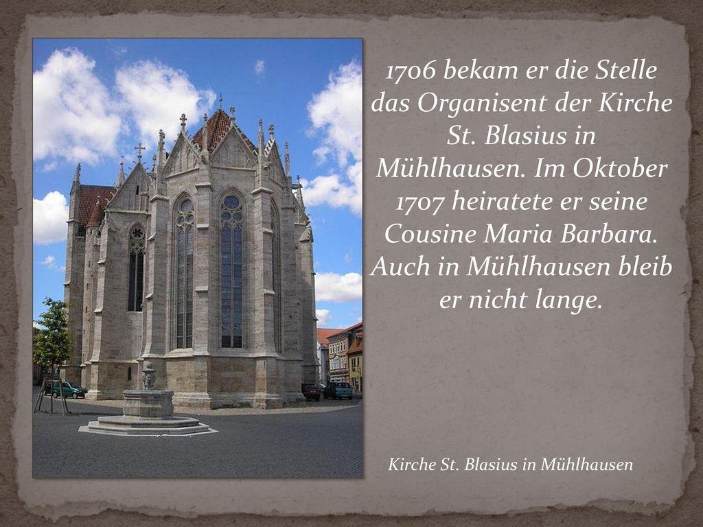 Kirche St. Blasius in Mühlhausen