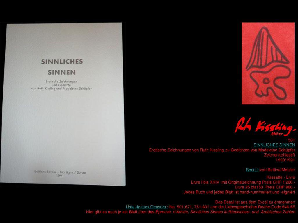 Bericht von Bettina Metzler Kassette - Livre